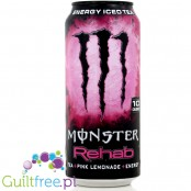 Monster Rehab Pink Lemondae Energy Iced Tea 10kcal