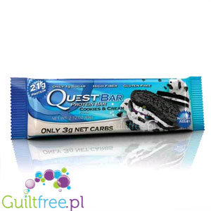 Quest Bar Cookies&Cream