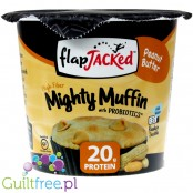 FlapJacked Mighty Muffin with prebiotics Peanut Butter
