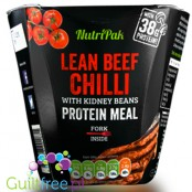 Nutripak Lean beef chilli protein meal