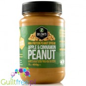 Dr. Zak's high protein peanut spread apple cinnamon peanut