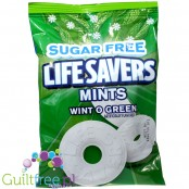 Lifesavers Hard SUGAR FREE Wintogreen Mints Peg Bag 2.75oz