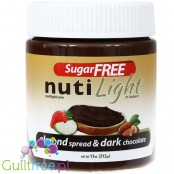 Sugar Free Nuti Light Gluten-Free Almond & Dark Chocolate Spread