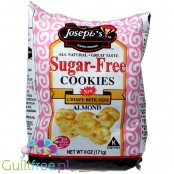 Sugar-free all natural Cookies, Crispy Bite-Size Almond