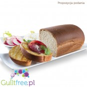 CiaoCarb Bauletto low calories food preparation - Bread with reduced carbohydrate and high in protein and fiber content *