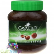 Cavalier Stevia Haselnusscreme - Chocolate-nutty cream without sugar, sweetened with stevia and erythritol