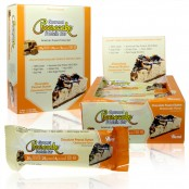 ANSI Gourmet Chocolate Peanut Butter Cheesecake naturally flavored protein bar