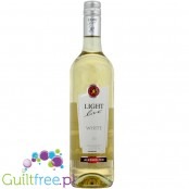 Light Live Chardonnay alcohol free - White wine Chardonnay without alcohol.