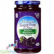 Polaner Sugar Free with Fiber Seedlings Blackberry Preserves