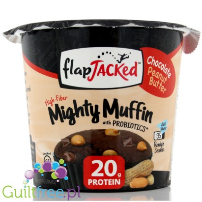 Flapjacked Mighty Muffin Chocolate Peanut Butter
