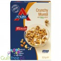 Atkins granola breakfast cereals with nuts and seeds