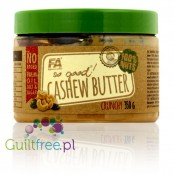 Fitness Authority So Good! Cashew Butter Crunchy 100% - roasted cashew butter, no added sugar and no salt