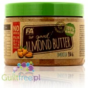 Fitness Authority So Good! Almond Butter Smooth 100% - almond butter with roasted almonds in skins, ground smoothly, with no add