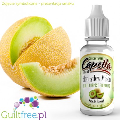 Capella Flavors Honeydew Melon Flavor Concentrate - Concentrated sugar-free and fat-free food flavors: honey melon
