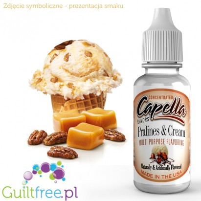 Capella Flavors Pralines & Cream Flavor Concentrate 13ml