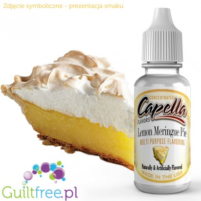 Capella Flavors Lemon Meringue Pie Flavor Concentrate - Concentrated sugar-free and fat-free food flavors: lemon cake with merin
