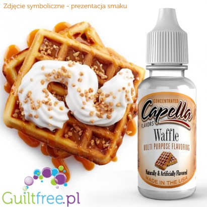 Capella Flavors Waffle Flavor Concentrate - Concentrated sugar-free and fat-free food flavors: Belgian waffles