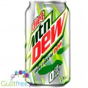 Mountain Dew Diet bez cukru, zero kcal
