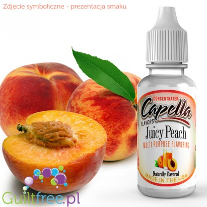 Capella Flavors Juicy Peach Flavor Concentrate 13ml