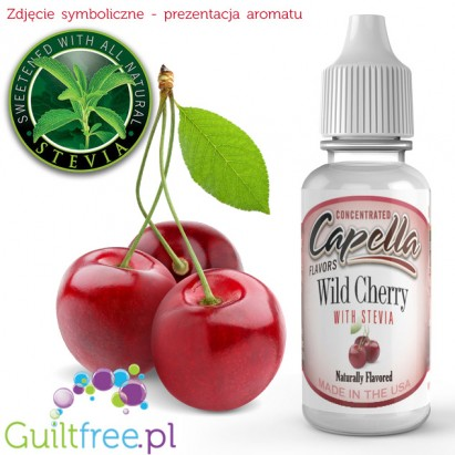 Capella Flavors Wild Cherry Flavor Concentrate with Stevia 13ml