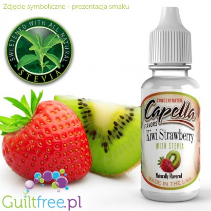 Capella Flavors Kiwi Strawberry Flavor Concentrate with Stevia 13ml
