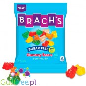 Brach's Sugar Free Gummy Bears - sugar-free fruit-flavored jelly, with sweeteners