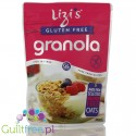 Lizi's Sugar Free Granola - roasted oatmeal with nuts, low glycemic load, no added sugar