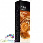 Zero butter candies with sweeteners - buttermilk sweet sugar-based caramels, containing sweeteners