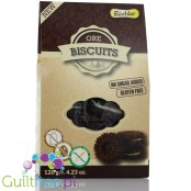 Ore biscuits - Ore biscuits without added sugar, contain sweeteners Net Weight: 120g Ingredients: 65% short cake {corn flour,
