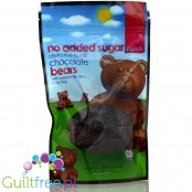 Chocolate Bears with xylitol