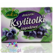 Sugar-free xylitol-sweetened, sugar-free xylitol tablets