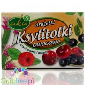 Powdered fruit pastes with acerola extract