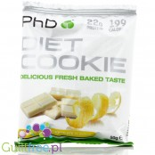 PhD Diet Cookie Lemon & White Chocolate