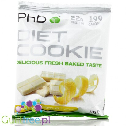 PhD Diet Cookie smak Lemon
