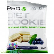 PhD Diet Cookie Blueberry & White Chocolate