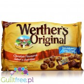 Werther's Original sugar free sweet cream & chocolate butter caramels, 1KG peg bag