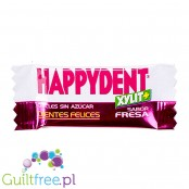Happiness Strawberry flavored chewing gum