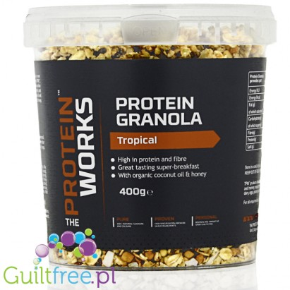 The Protein Works Protein Granola 400g Tropical