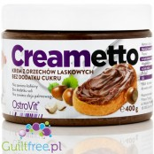 Ostrovit Cremetto - cream spreads with nuts without added sugar