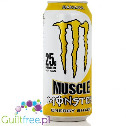 MONSTER MUSCLE Banana Energy Shake