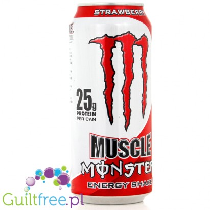 MONSTER MUSCLE Strawberry Energy Shake