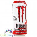 Monster Muscle Energy Shake Strawberry Cream - A strawberry-flavored