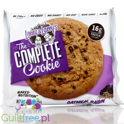 Lenny & Larry Highprotein All Natural Vegan Complete Cookie Oatmeal Raisin All Natural