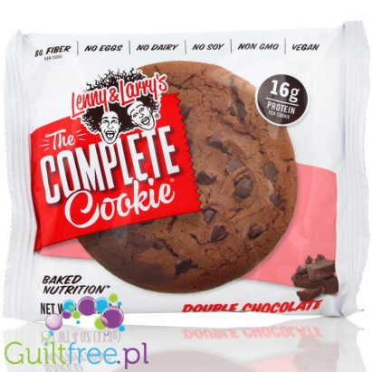 Lenny & Larry Highprotein All Natural Vegan Complete Cookie Double Chocolate All Natural