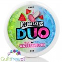 Ice Breakers Duo Watermelon sugar free mints with cooling crystals