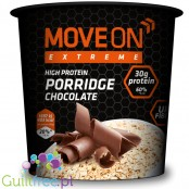 Moveon Extreme High Protein Porridge Chocolate - Chocolate High Protein Porridge Containing Sweeteners