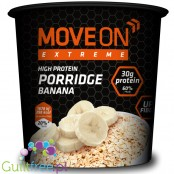 Moveon Extreme high protein porridge banana - banana high protein porridge containing sweetener