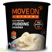 Move On Extreme pudding proteinowy 30g białka, Banan