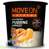 Move On Extreme pudding proteinowy 30g białka, Morela