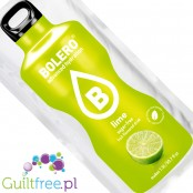 Bolero Instant Fruit Flavored Drink with sweeteners, Lime